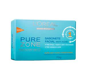 Sabonete Facial Anti-Acne, Loreal