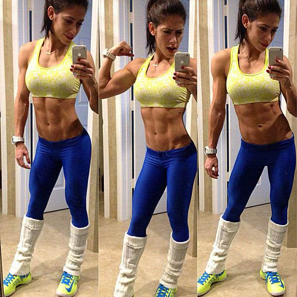 Bella Falconi top e legging