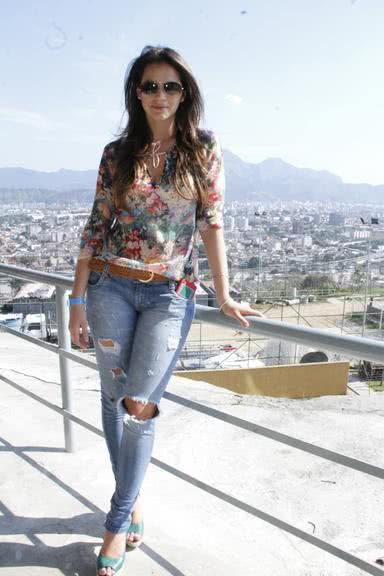 Look casual da Bruna Marquezine