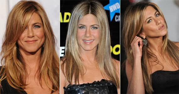 As madeixas loiras e compridas eram marca registrada de Jennifer Aniston