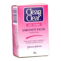 Clean & Clear sabonete facial anti-acne