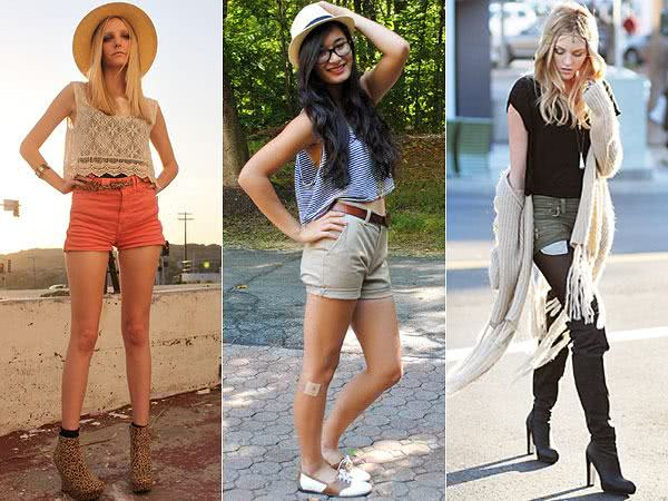 AMBER – LEAH – SHEA | Looks com Cropped Top