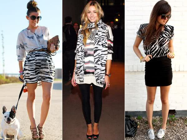 Looks com Animal Print