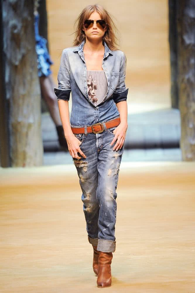 Moda country - look jeans