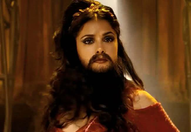 "Salma Hayek no filme ""Cirque Du Freak: The Vampire´s Assistan"""