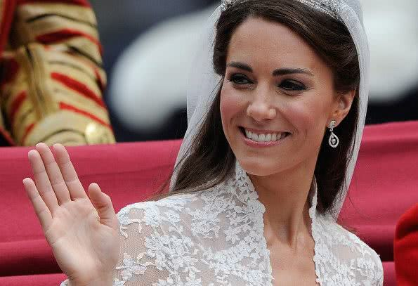 Brincos de Kate Middleton