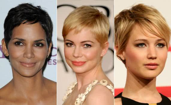Halle Berry, Michelle Williams e Jennifer Lawrence