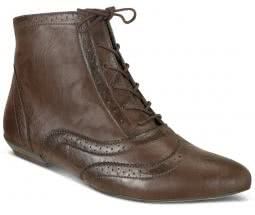 Bota estilo Oxford