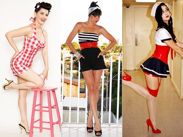 Fantasias estilo pin-up