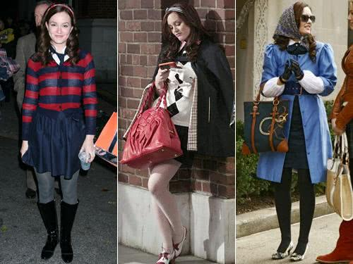 Blair Waldorf - looks do seriado Gossip Girl