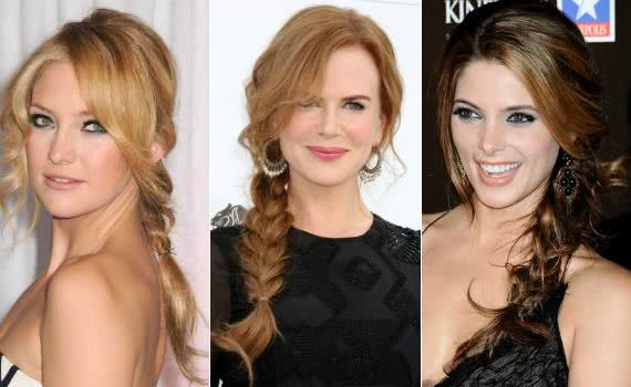 As tranças de Kate Hudson, Nicole Kidman e Ashley Greene